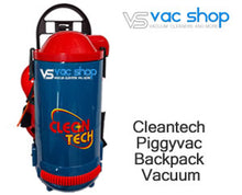 Load image into Gallery viewer, cleantech piggy vac backpack vacuum cleaner
