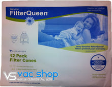 Load image into Gallery viewer, Filter Queen Genuine Filter Cones 12pkt