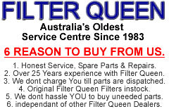 filter queen service agent since 1983