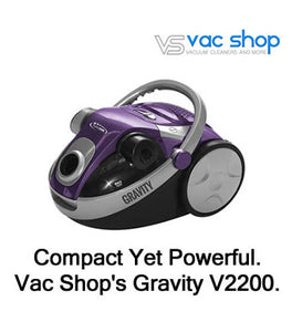 Cleanstar Gravity 2200W Cyclonic Bagless Vacuum Cleaner