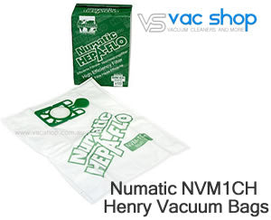 Numatic henry NVN-1CH vacuuum cleaner bags