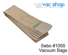 Load image into Gallery viewer, sebo 1055 vacuum bags