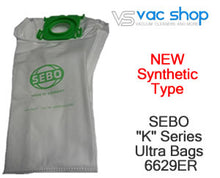 Load image into Gallery viewer, sebo 6629 synthetic vacuum cleaner bag