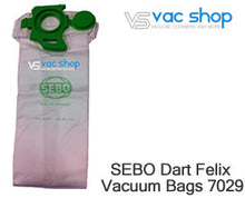 Load image into Gallery viewer, sebo 7029 synthetic vacuum cleaner bag