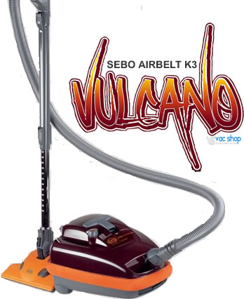 SEBO K3 Vulcano Hard Floor Vacuum Cleaner,