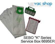 Load image into Gallery viewer, sebo k series service kit 6695ER