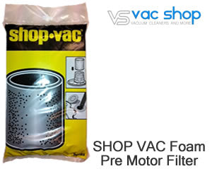 shop vac foam pre motor filter