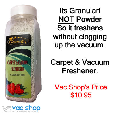 vacuum freshener - strawberry fields