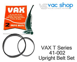 vax upright T1000 T1200 belt set