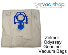 Load image into Gallery viewer, zelmer odyssey genuine vacuum bags
