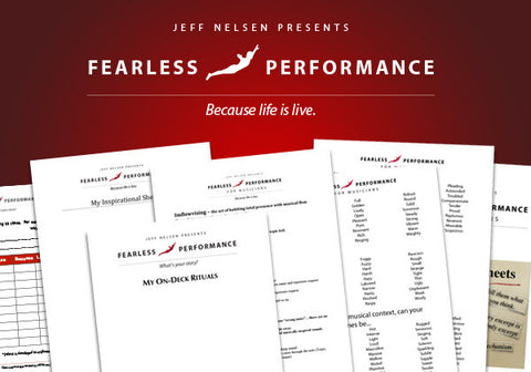Fearless Performance Worksheets