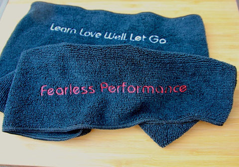 Fearless Performance Concert-Black Towel