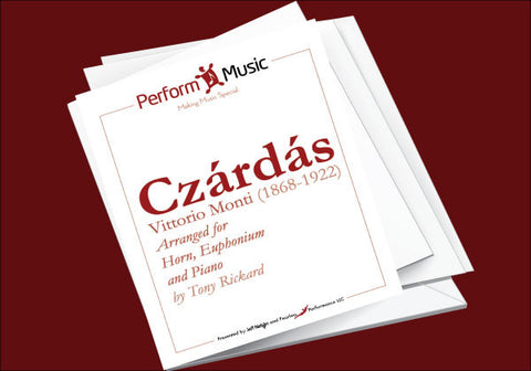 Czardas for Horn, Euphonium and Piano