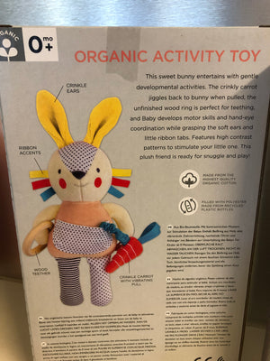 Children's; organic activity toy