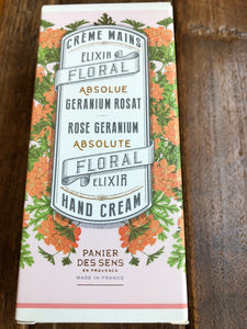 Hand Cream Painer Des Sens - Rose Geranium