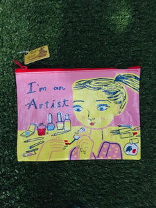 Cosmetic purse, I'm an Artist