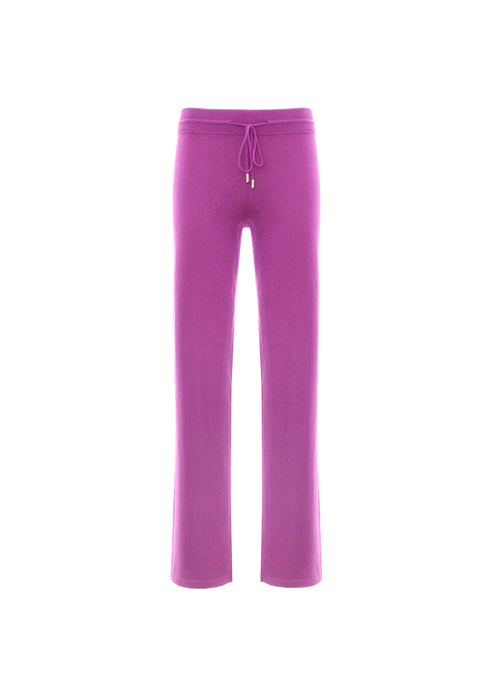 Pantalone jogging in cashmere