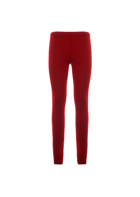 Leggings in puro cashmere
