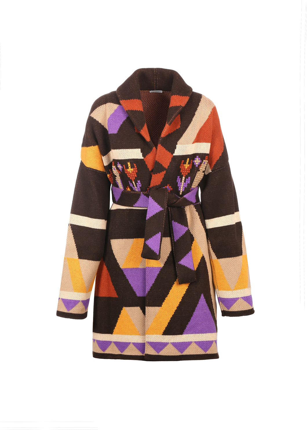 Cappotto multicolore