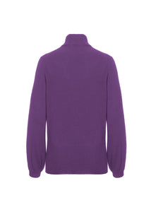 Collo alto in cashmere