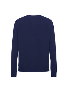 Girocollo in cashmere light
