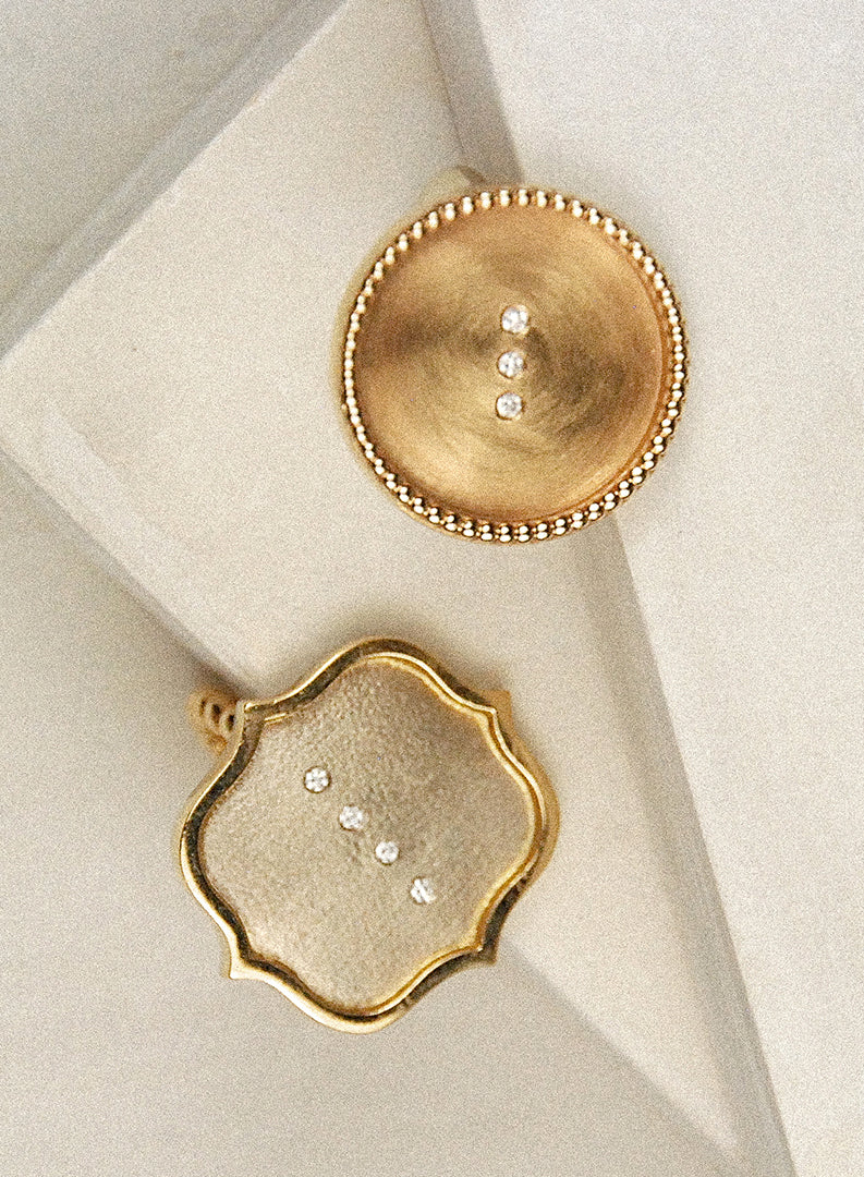 Circle Statement Ring