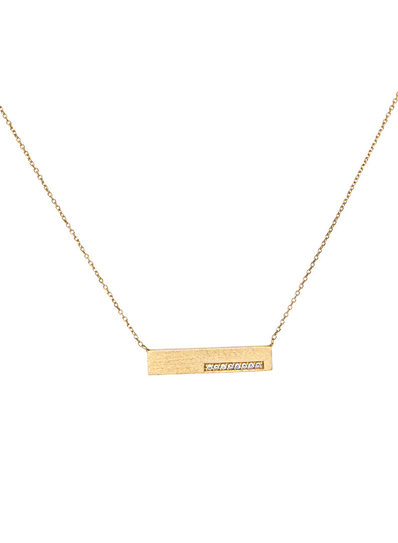 Horizontal Bar Necklace