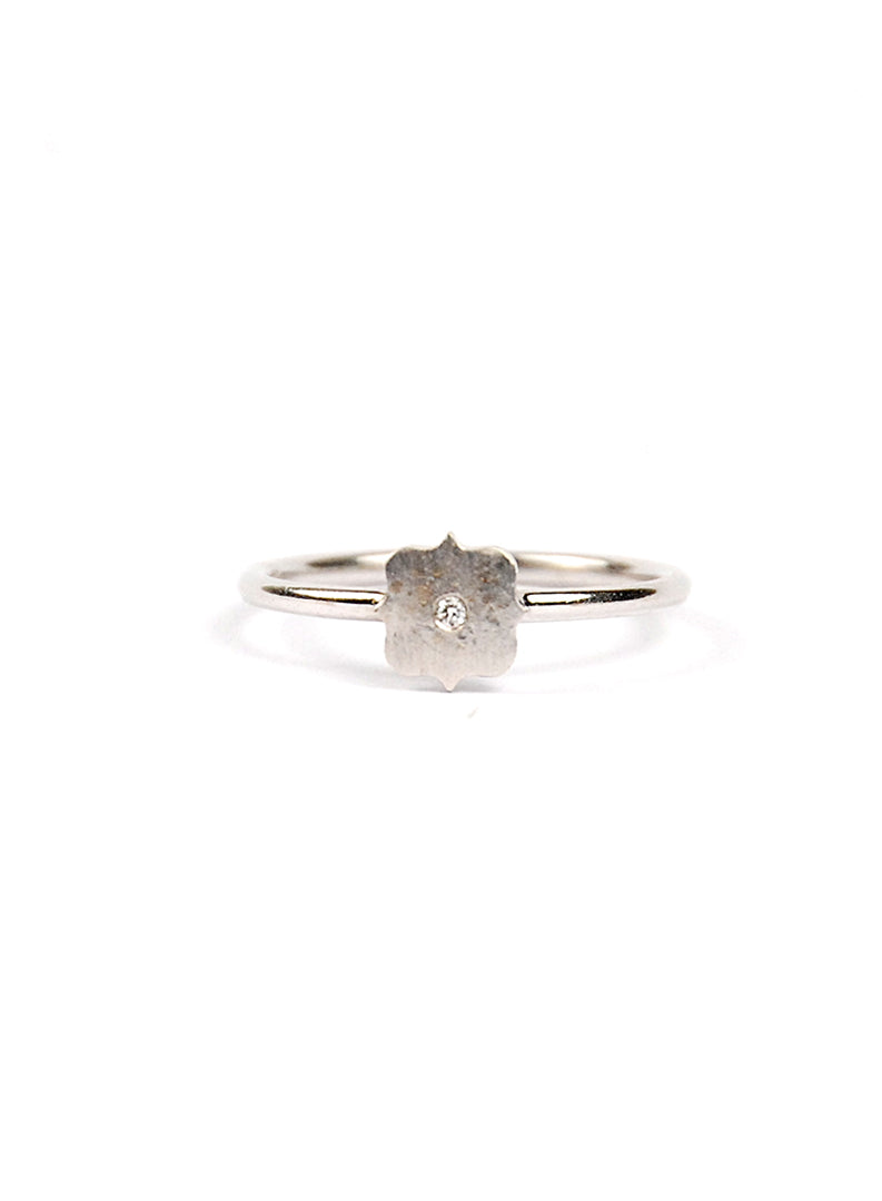 Mini Shield Stackable Ring