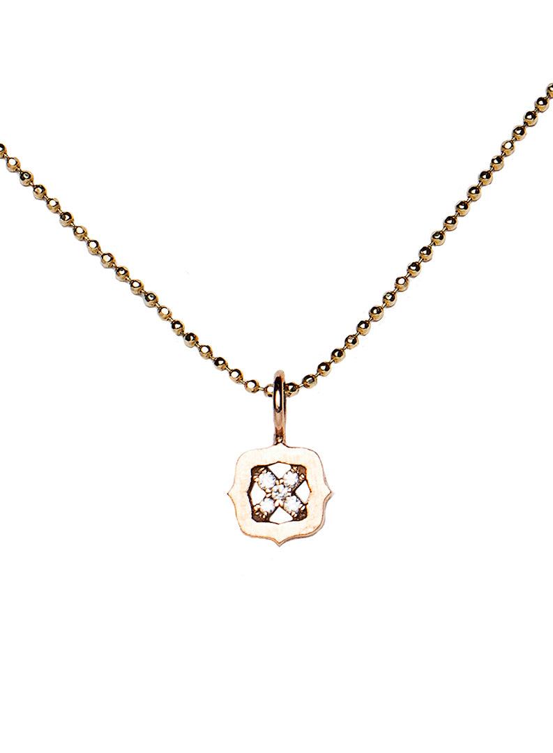 X Charm Necklace