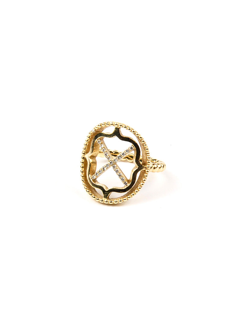 XO Statement Ring