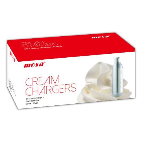 Mosa Cream Chargers Pk50