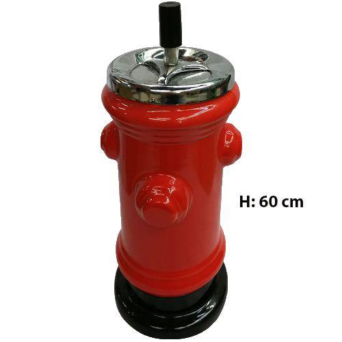 FIRE HYDRANT SPINNING CERAMIC ASHTRAY - 60CM