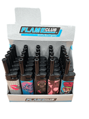 FLAMECLUB SKULL LIGHTER TRAY 25PK