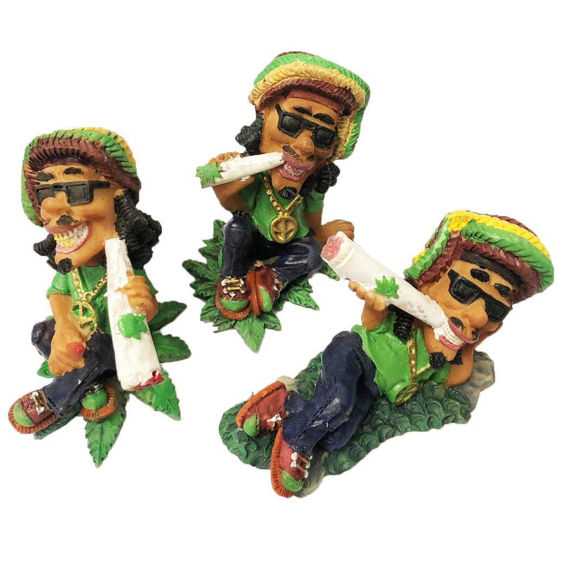 JAMAICAN SMOKING FIGURE