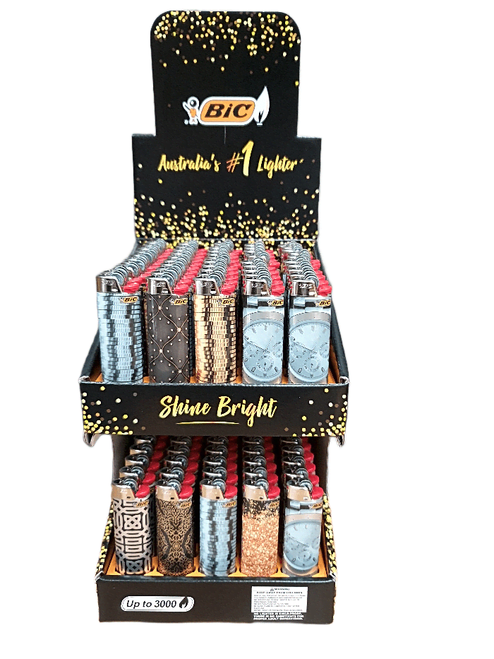 BIC J26 SHINE DISPLAY PACK/2 - Cig Corp Wholesalers