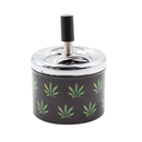 PUSH SPIN ASHTRAY – ASSORTED DESIGNS - Cig Corp Wholesalers