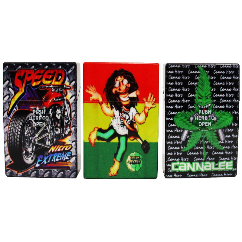 PLASTIC CIGARETTE CASE 12 PCS