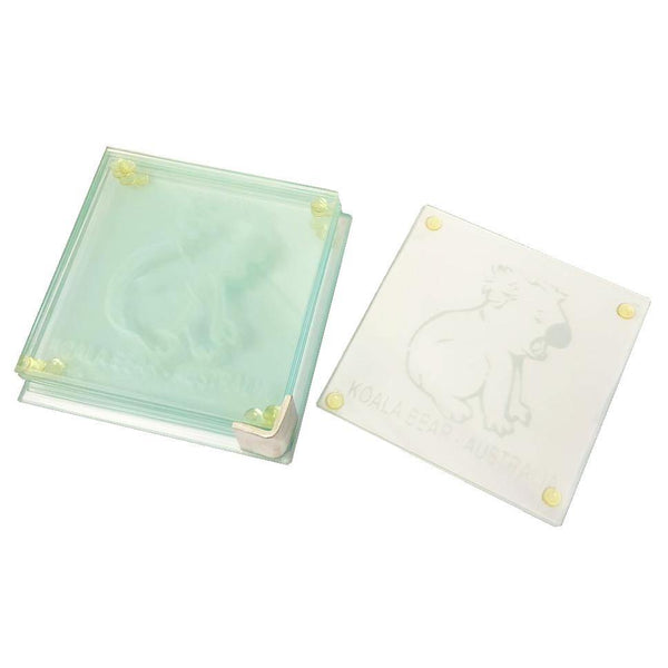 COASTER SET KOALA-BEAR AUSTRALIA - 6PCS