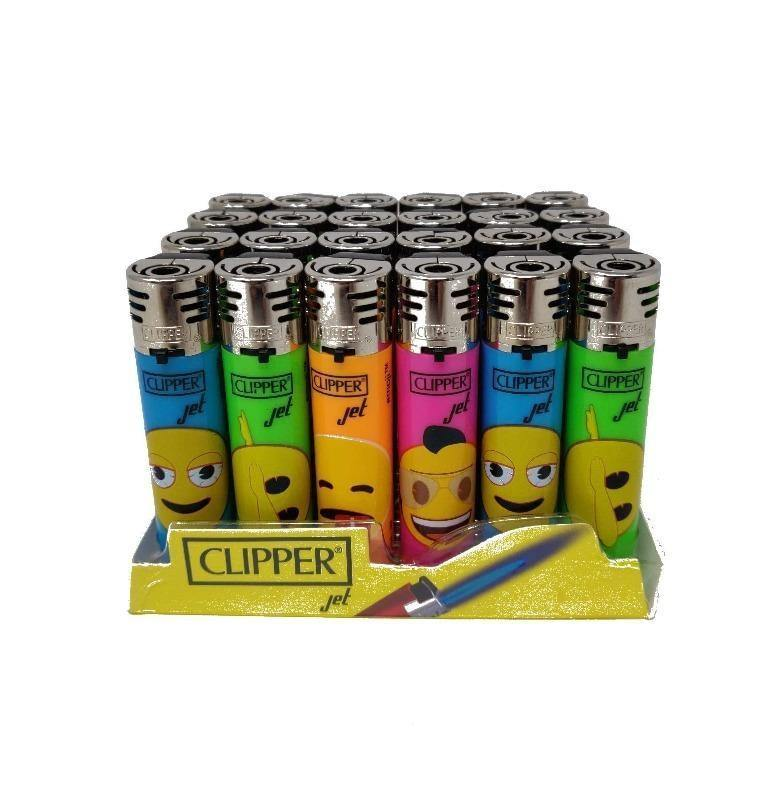 CLIPPER JET EMOJI LIGHTER  (24)
