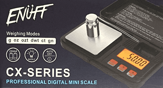 ENUFF DIGITAL SCALE 200g  0.01 - Cig Corp Wholesalers