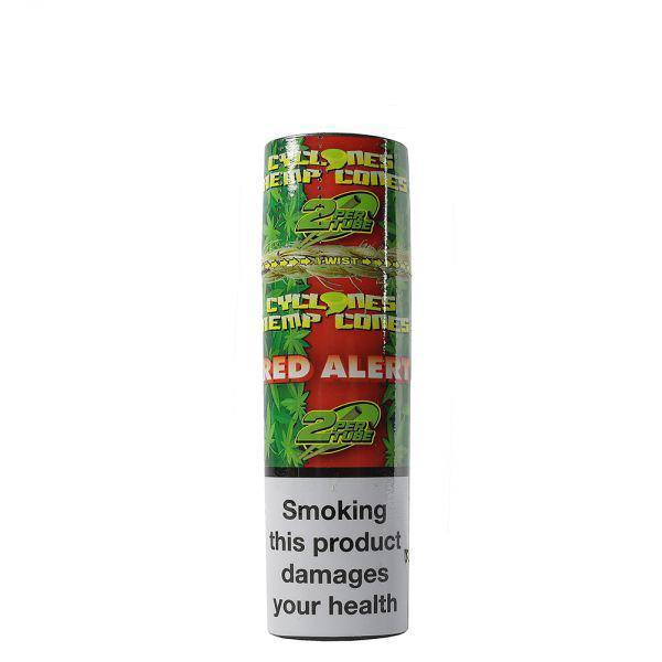 Cyclones Hemp Cone Red Alert 24pk - Cig Corp Wholesalers