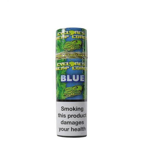 Cyclones Hemp Cone Blue 24pk