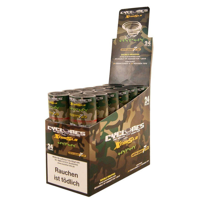 Cyclones Double Wrapped Cone Hyphy 24pk