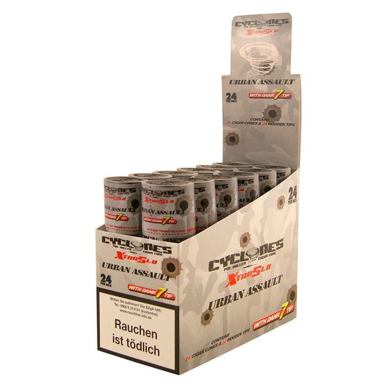 Cyclones Double Wrapped Cone Urban Assault 24pk - Cig Corp Wholesalers