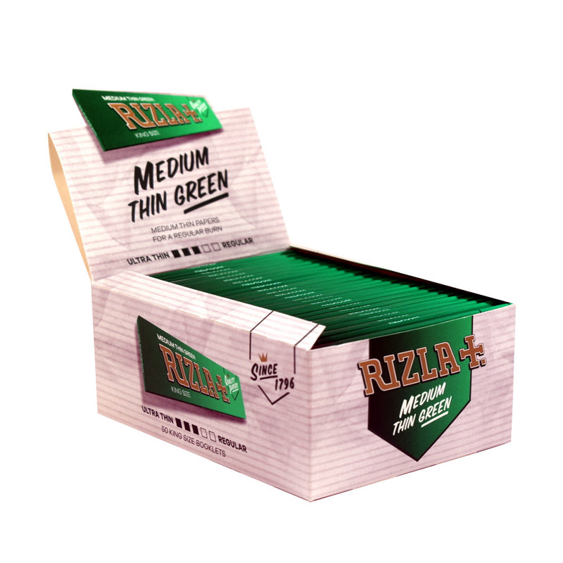 RIZLA KING SIZE GREEN - 50 PACK