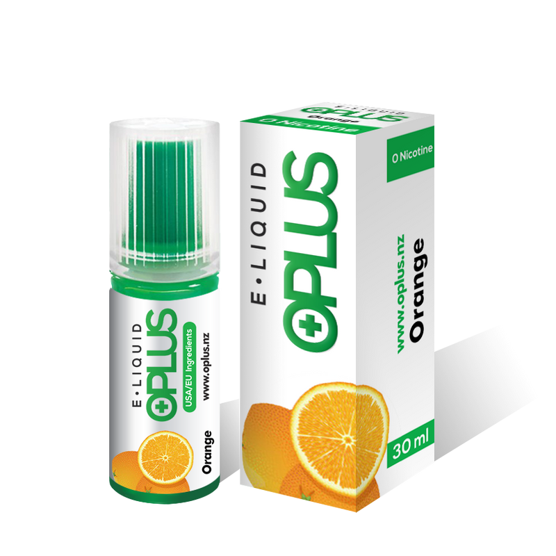 OPLUS E-LIQUID ORANGE FLAVOR 30ML 10 Bottles