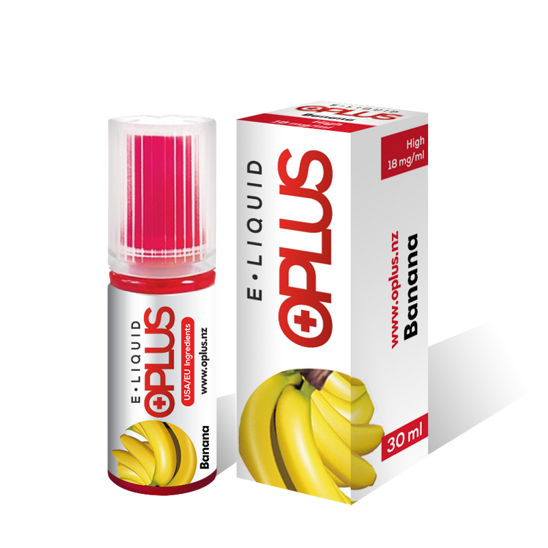 OPLUS E-LIQUID BANANA FLAVOR 30ML 10 Bottles