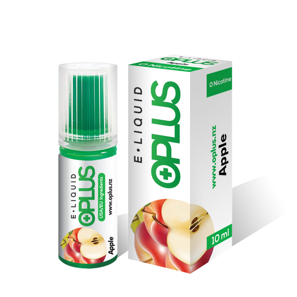 OPLUS E-LIQUID APPLE FLAVOR 10ML 10 Bottles