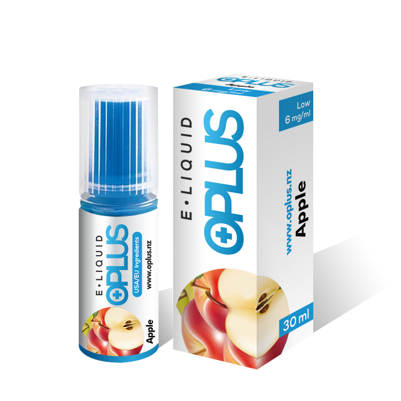 OPLUS E-LIQUID APPLE FLAVOR 30ML 10 Bottles