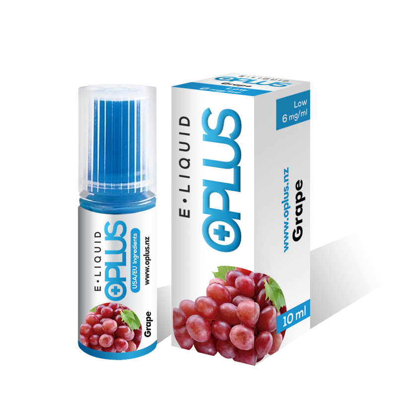 OPLUS E-LIQUID GRAPE FLAVOR 10ML 10 Bottles
